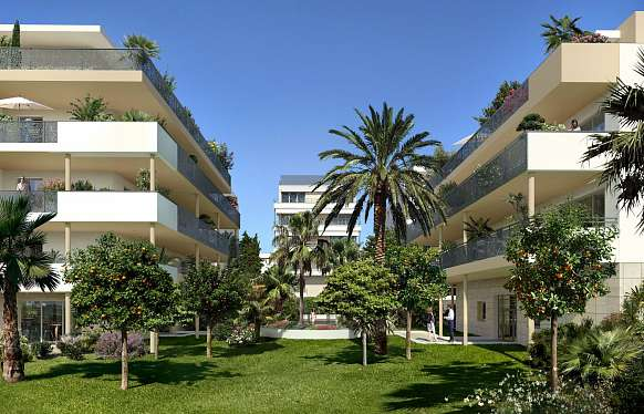 New 2-bedroom apartment in Cannes Palm Beach