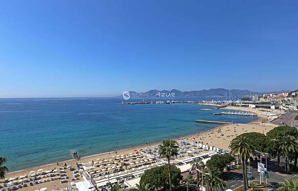 Seafront Hotel apartments in Cannes